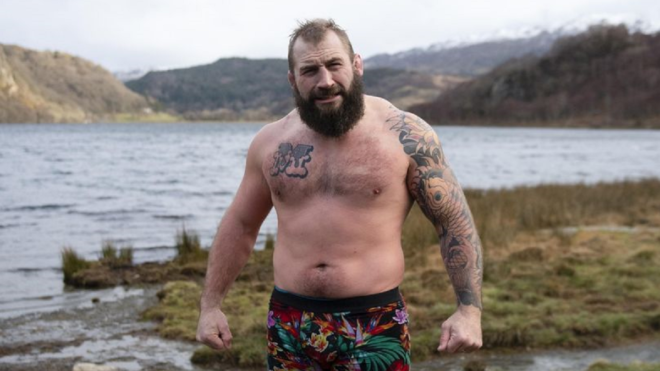 Rugby union star Joe Marler's love for outdoor swimming in 'Big Boys Don't Cry'