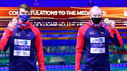 Another golden night for British swimmers as Peaty and mixed relay team shine