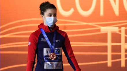 Andrea Spendolini-Sirieix edges thrilling tussle to win European bronze