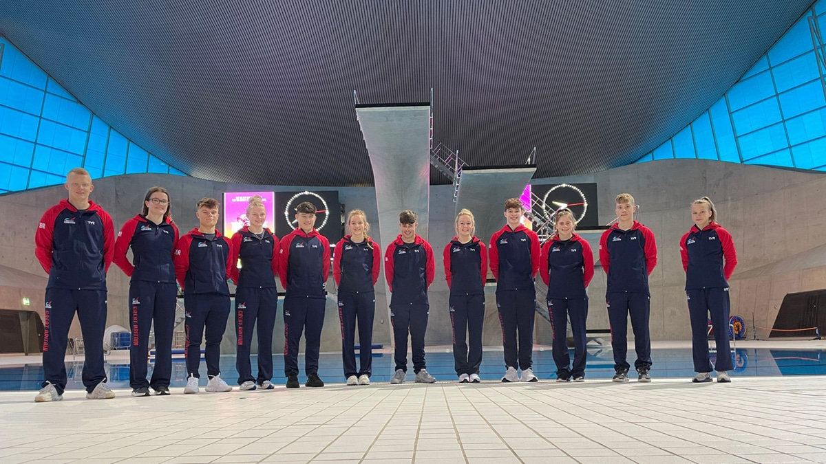 British youngsters have 'high aspirations' at European Junior Diving Championships