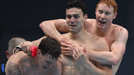 Steve Parry: Freestyle relay team can dominate event after perfect performance