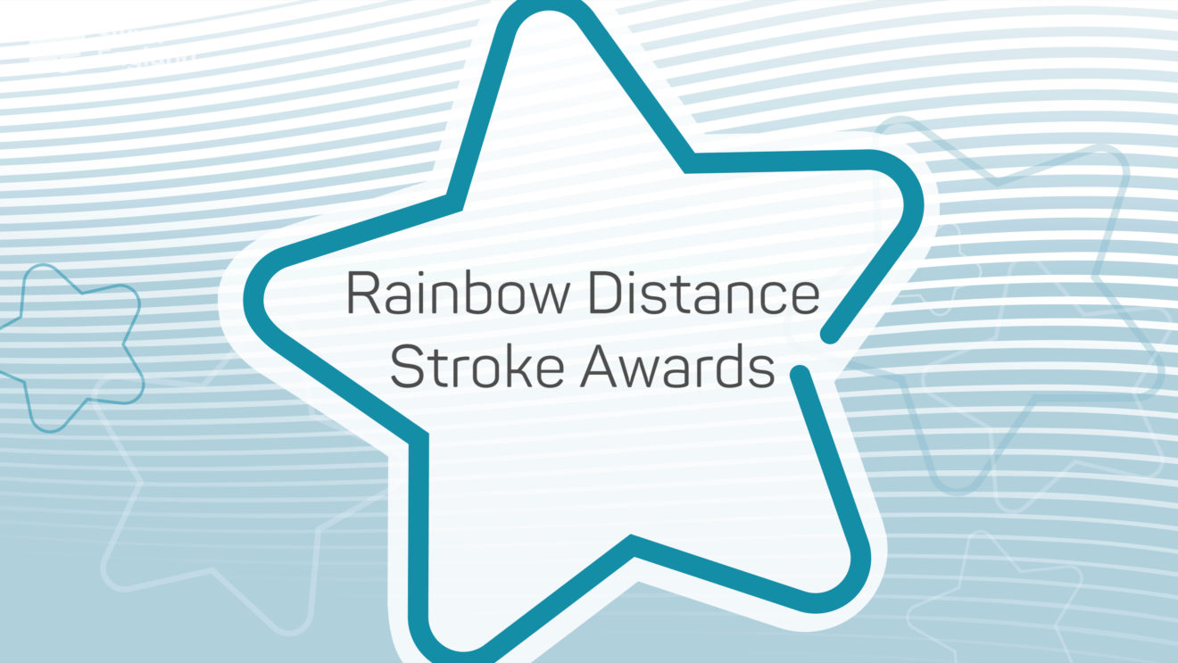 Rainbow Distance Stroke Awards video
