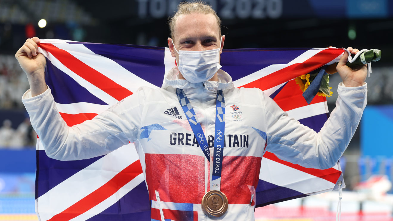 Luke Greenbank dedicates 'amazing' Olympic medal to coaches and family