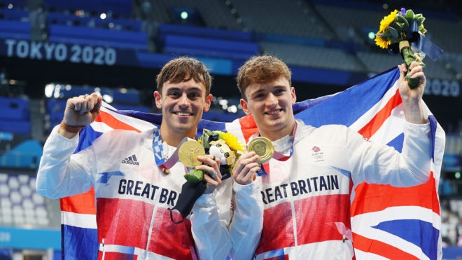 'Unstoppable mentality' helps Tom Daley and Matty Lee to Olympic title