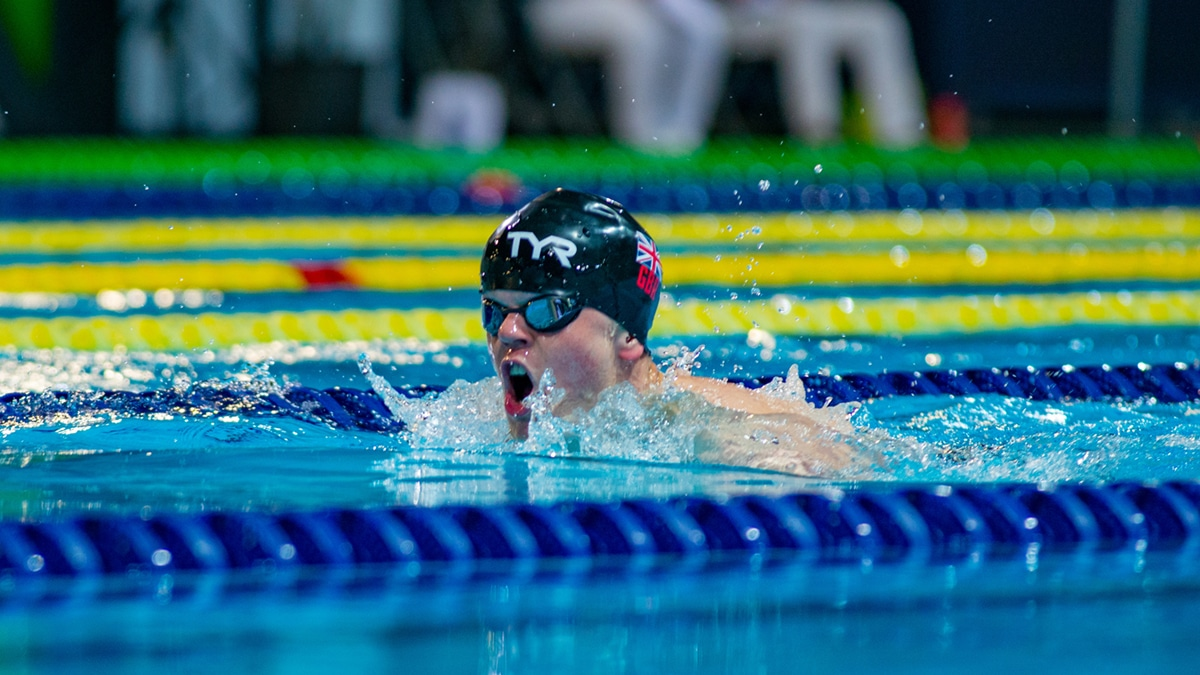 William Perry is set to make his Paralympics debut at the Tokyo 2020 Games