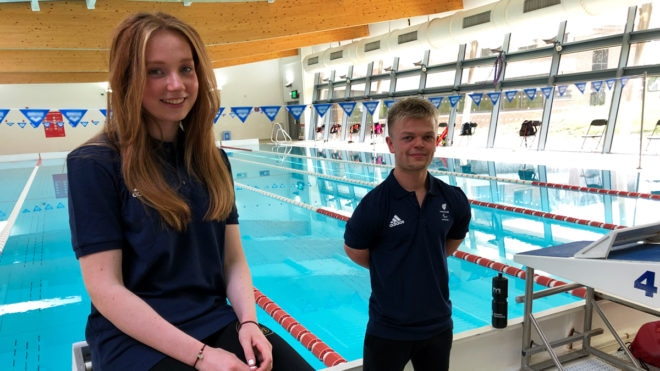 Northampton duo Zara Mullooly and William Perry set for Paralympics debut