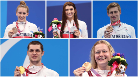 More swimming success as GB add five medals to the Paralympic tally