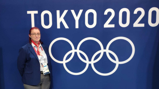 Tokyo Olympics swimming official Helen Akers urges volunteering involvement