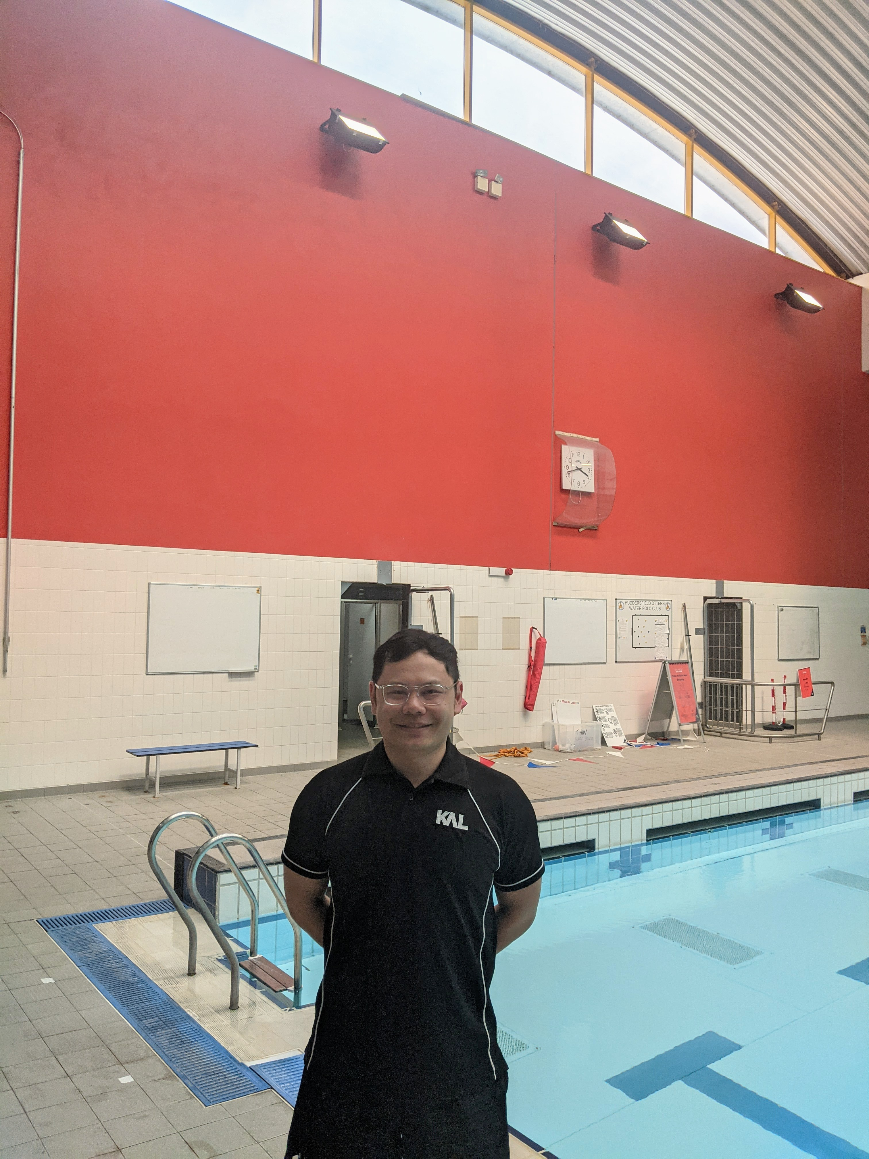 """Jason's story: """"I love seeing people develop a passion for the sport and seeing them enjoy swimming as much as I do"""""""