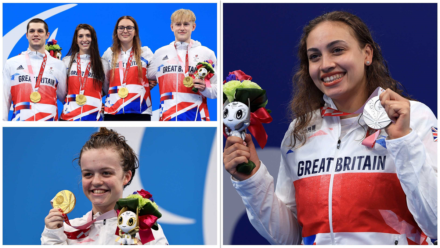 Swimmers deliver two golds and a silver on super Saturday at the Paralympics