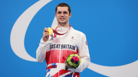 Hat-trick of gold medals for Reece Dunn as he breaks another world record