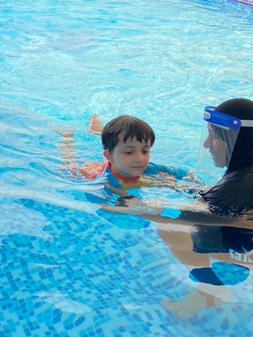 """""""I loved the aquatic life more than numbers"""" from Accountant to Swimming Teacher: Suha shares her story"""