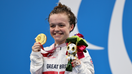 Second gold medal for Summers-Newton in new Paralympic record time