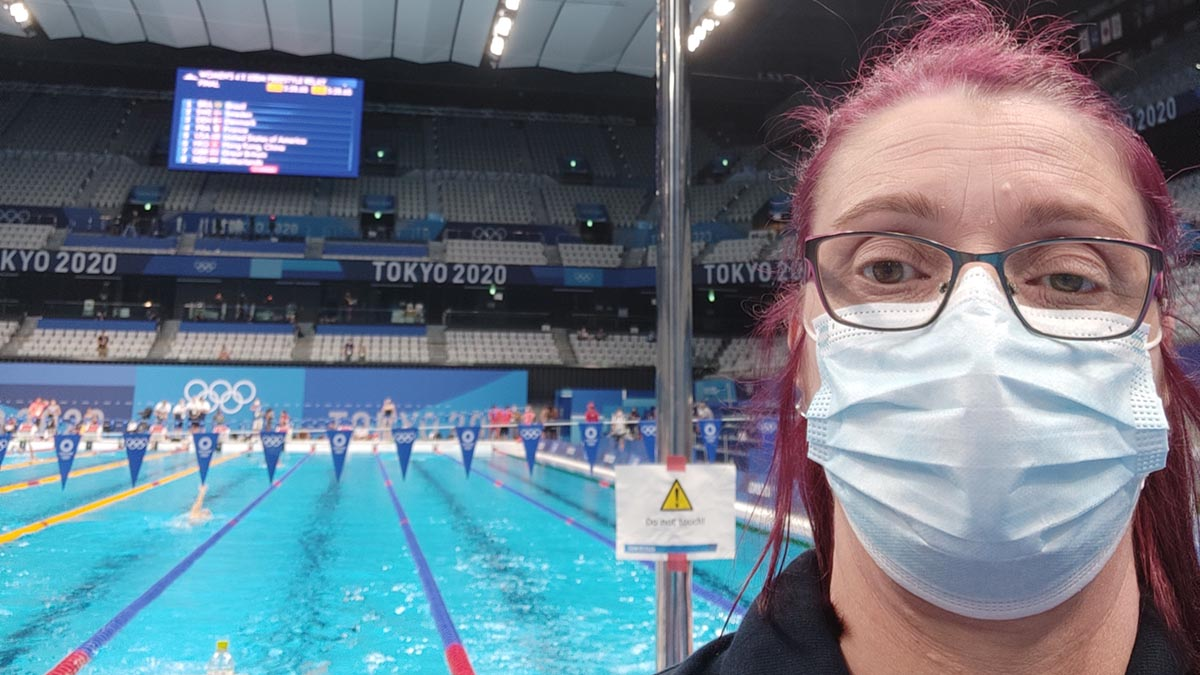 A behind-the-scenes look at life in Tokyo as an Olympic Games official