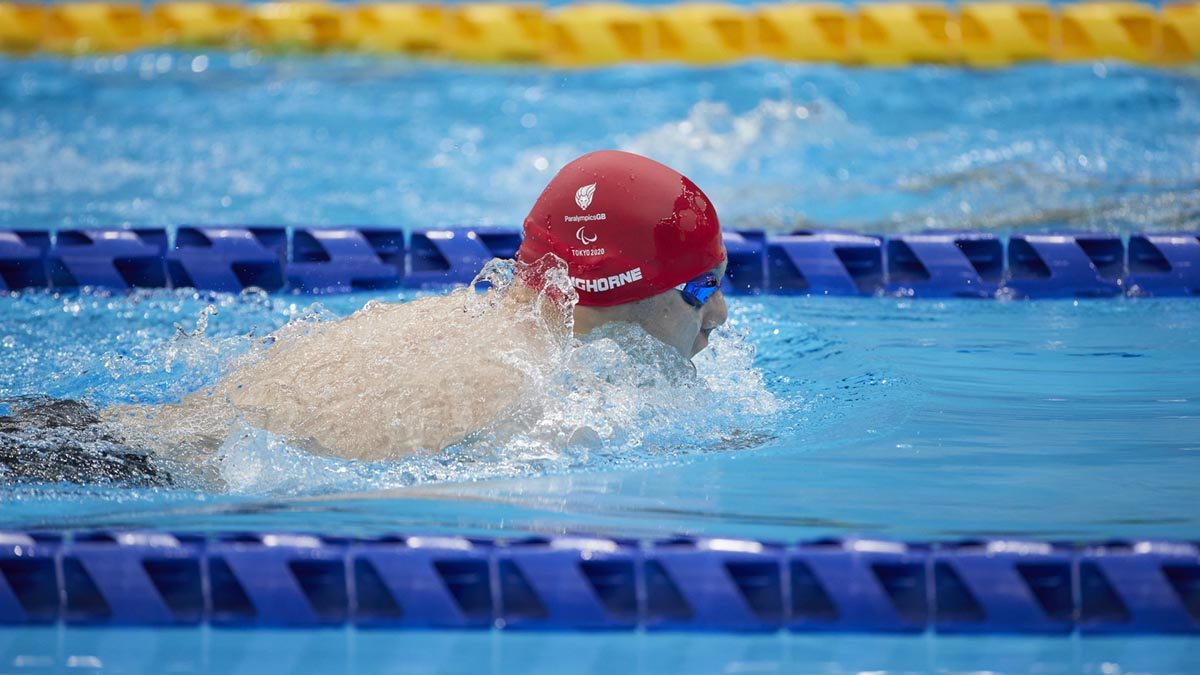 Lyndon Longhorne set a new British best as he reached his first Paralympic final