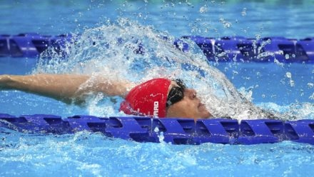 Stephanie Millward hopes performances will inspire next generation of swimmers