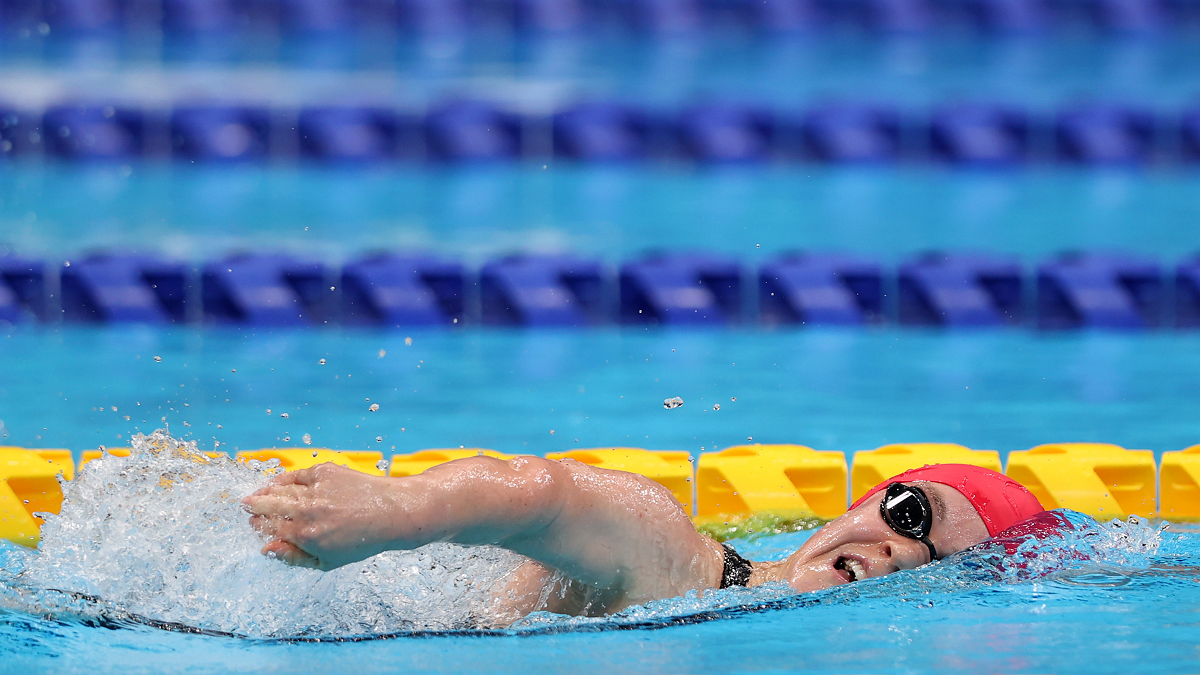 Ellie Simmonds swims in Women's S6 400m Freestyle final at Tokyo Paralympics