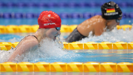 'Dream come true' for Redfern as she wins Paralympic silver