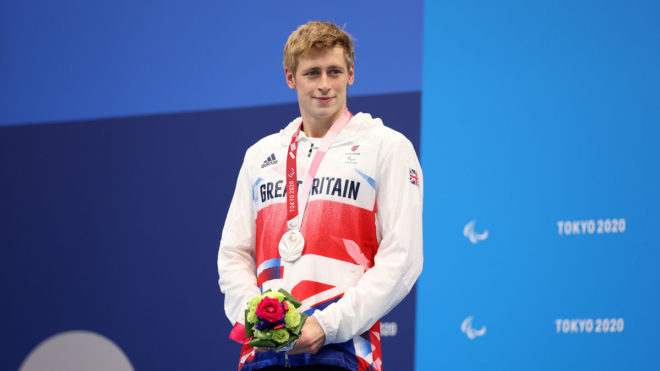 Stephen Clegg brings Paralympics swimming to a close with superb silver
