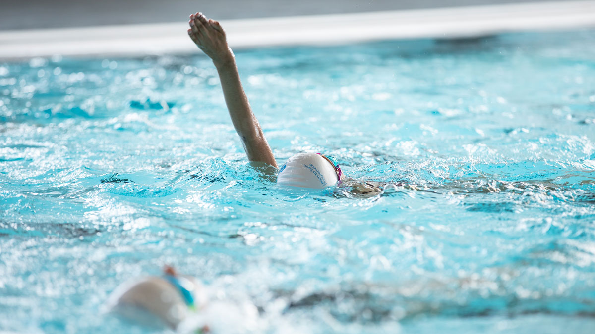 'The world is an oyster' says swim mum who urges importance of swimming lessons