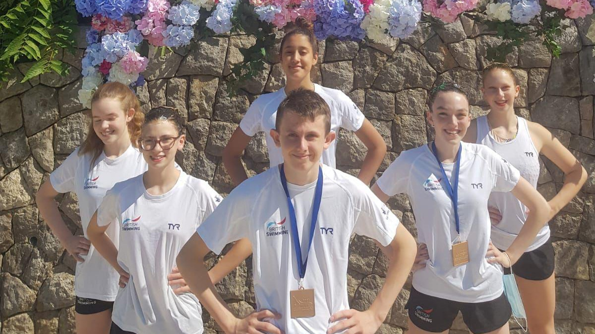 British duo win first mixed medal at European Youth Championships