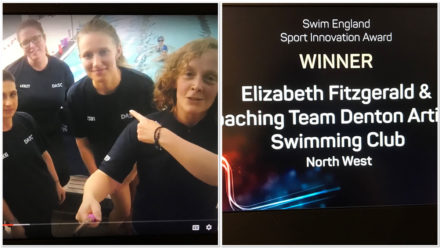 Denton Artistic thank 'wonderful' staff and swimmers after winning national award