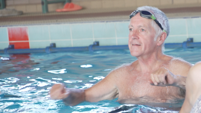#LoveSwimming star Trevor has new lease of life and urges others to get in the pool