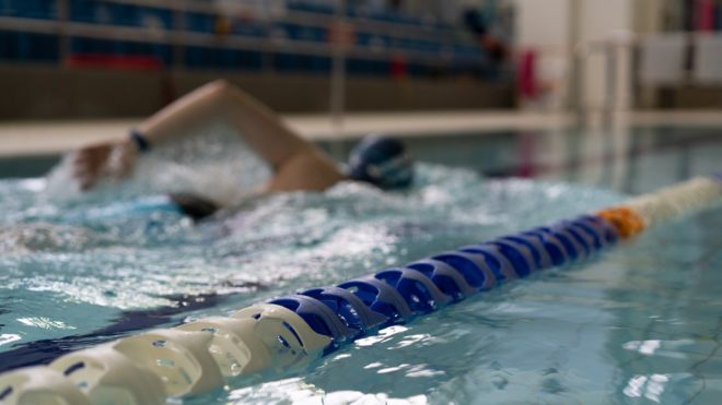 Swimming 'invaluable' to Howard Jacks after surgery threatened active lifestyle